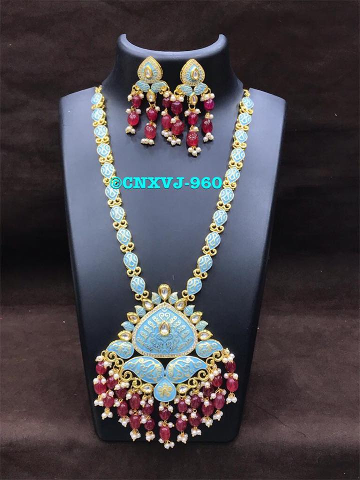 Decorative Long Necklace From Chaahat Fashion Jewellery
