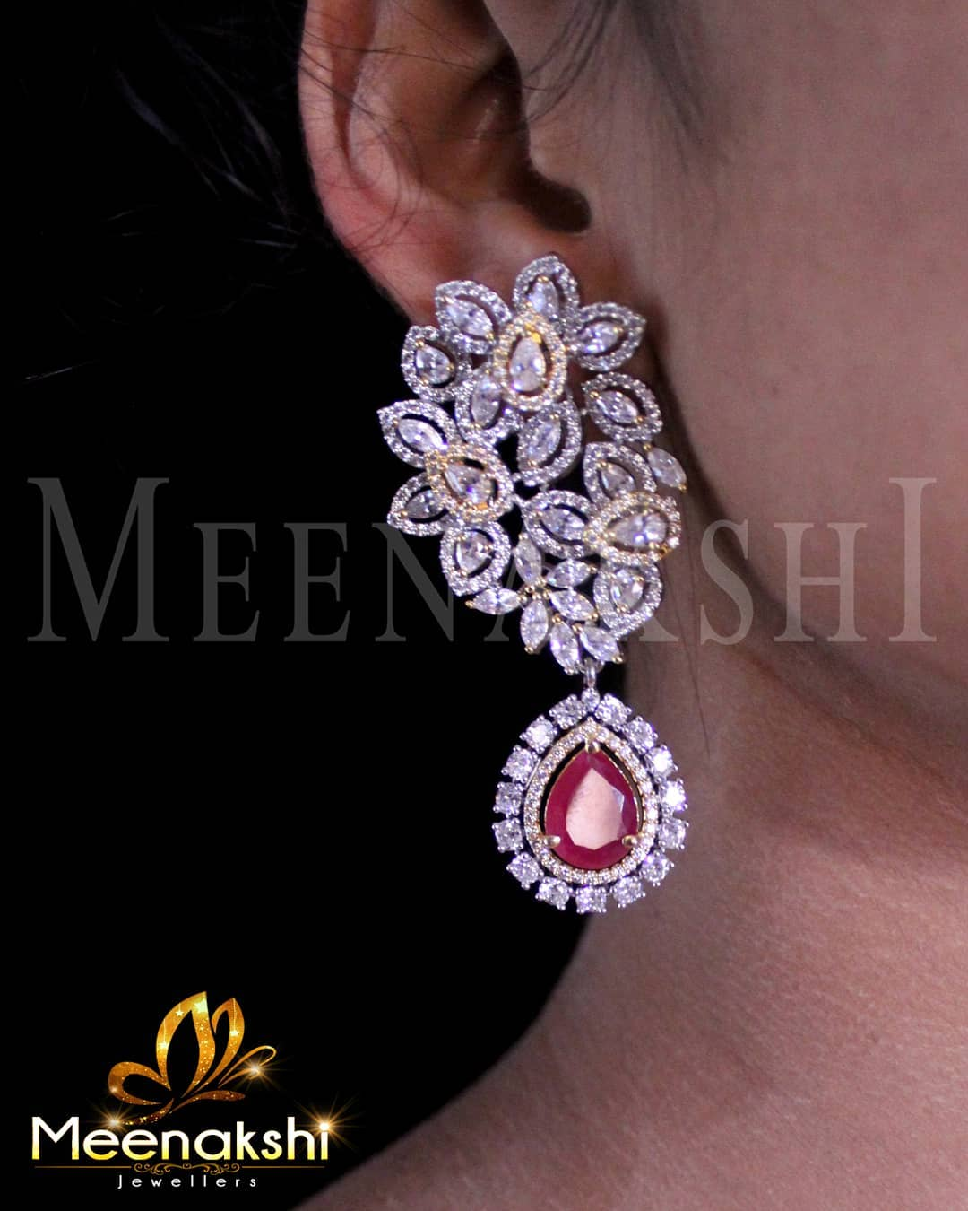 Designer Earring From Meenakshi Jewellers