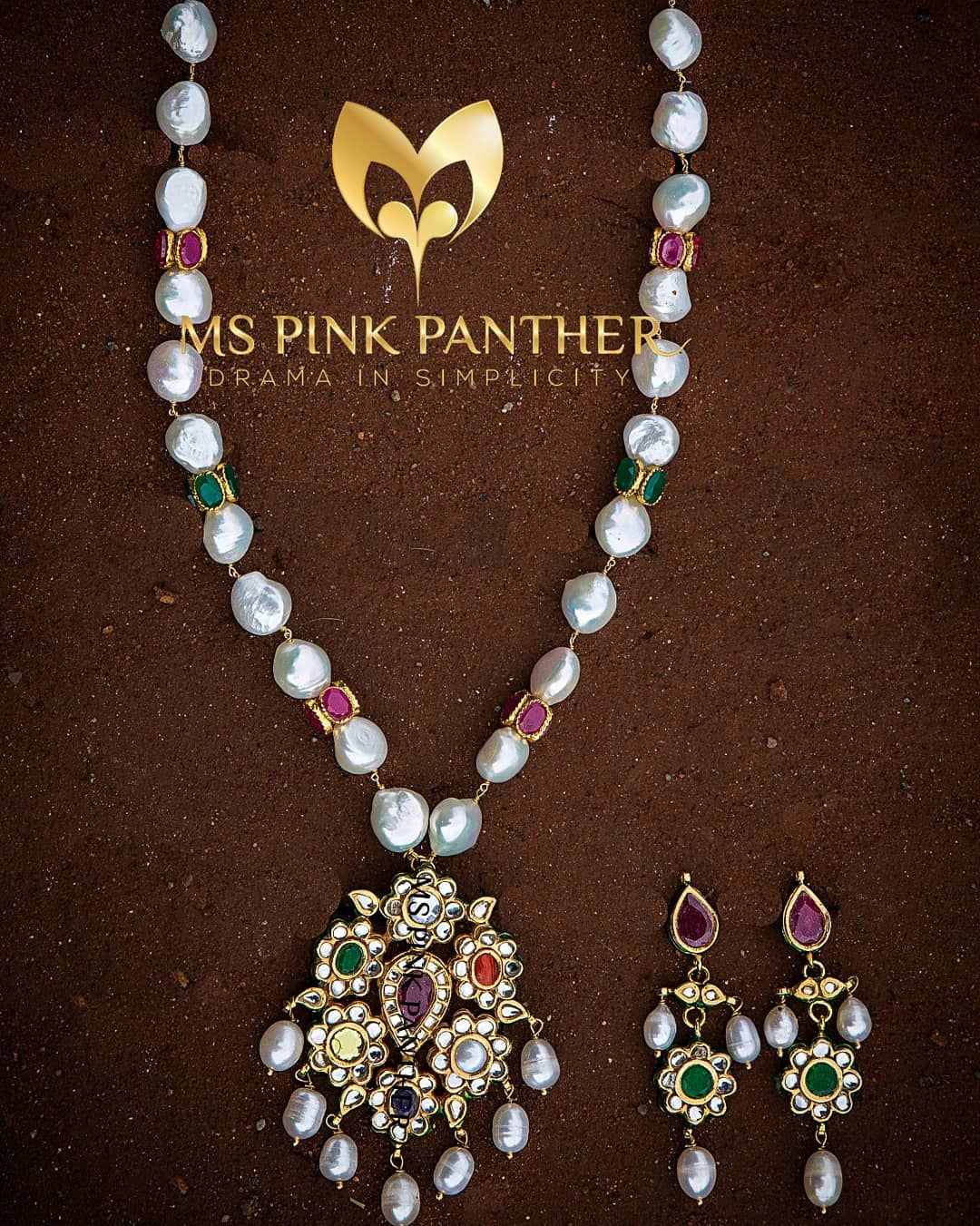 Ethnic Necklace Set From Ms Pink Panthers