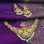 Eye Catching Necklace Set From Vibha Creations