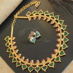 Graceful Green Necklace From Dreamjwell