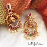 Pretty Earring From Kirthi Fashions