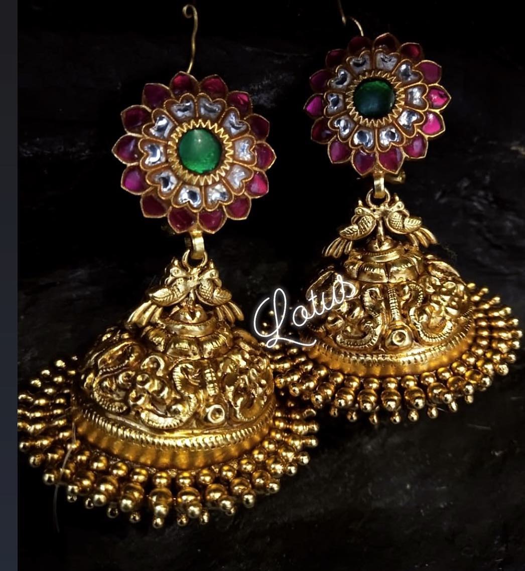 Stunning Jhumka From Lotus Silver Jewellery