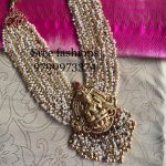 Stunning Temple Necklace From Sree Exotic Silver Jewelleries