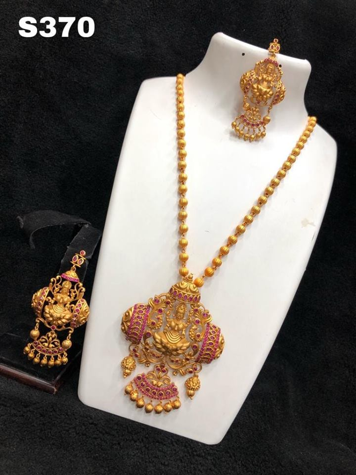 Traditional Temple Necklace From Sheka's Jewelry