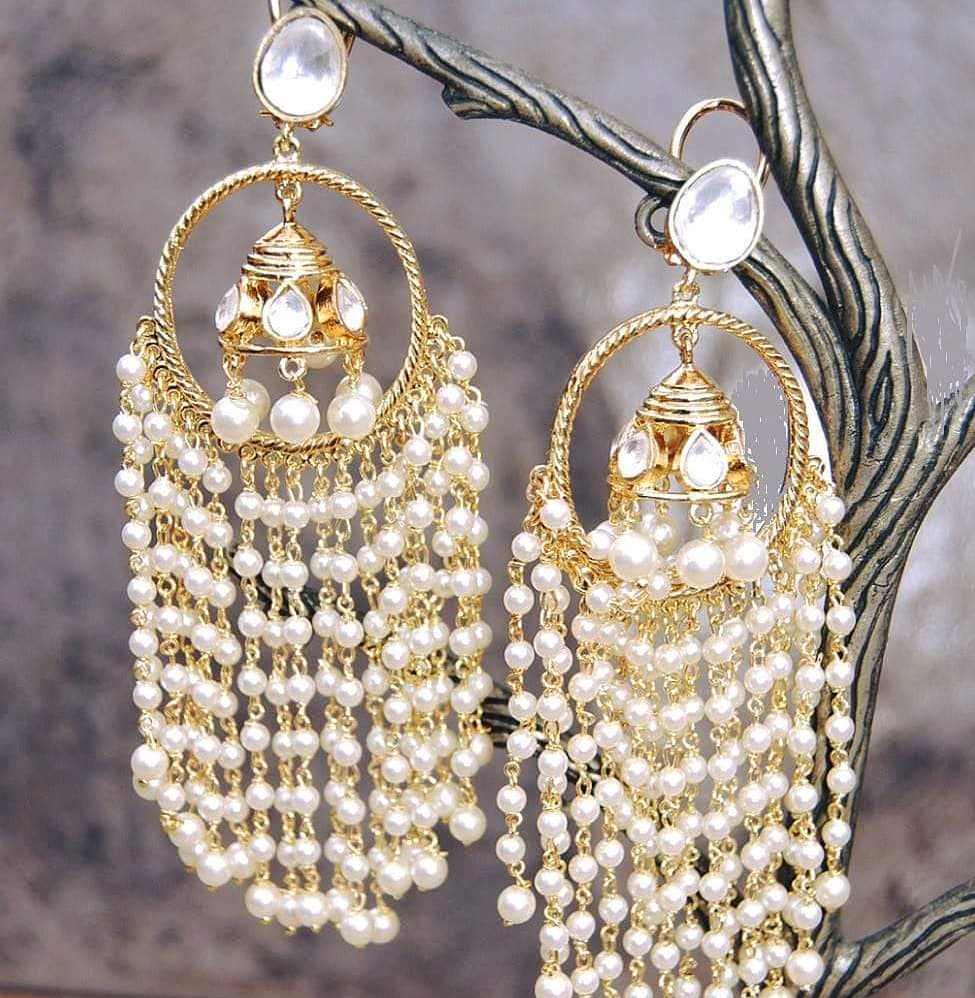Trendy Jhumka From Orne Jewels