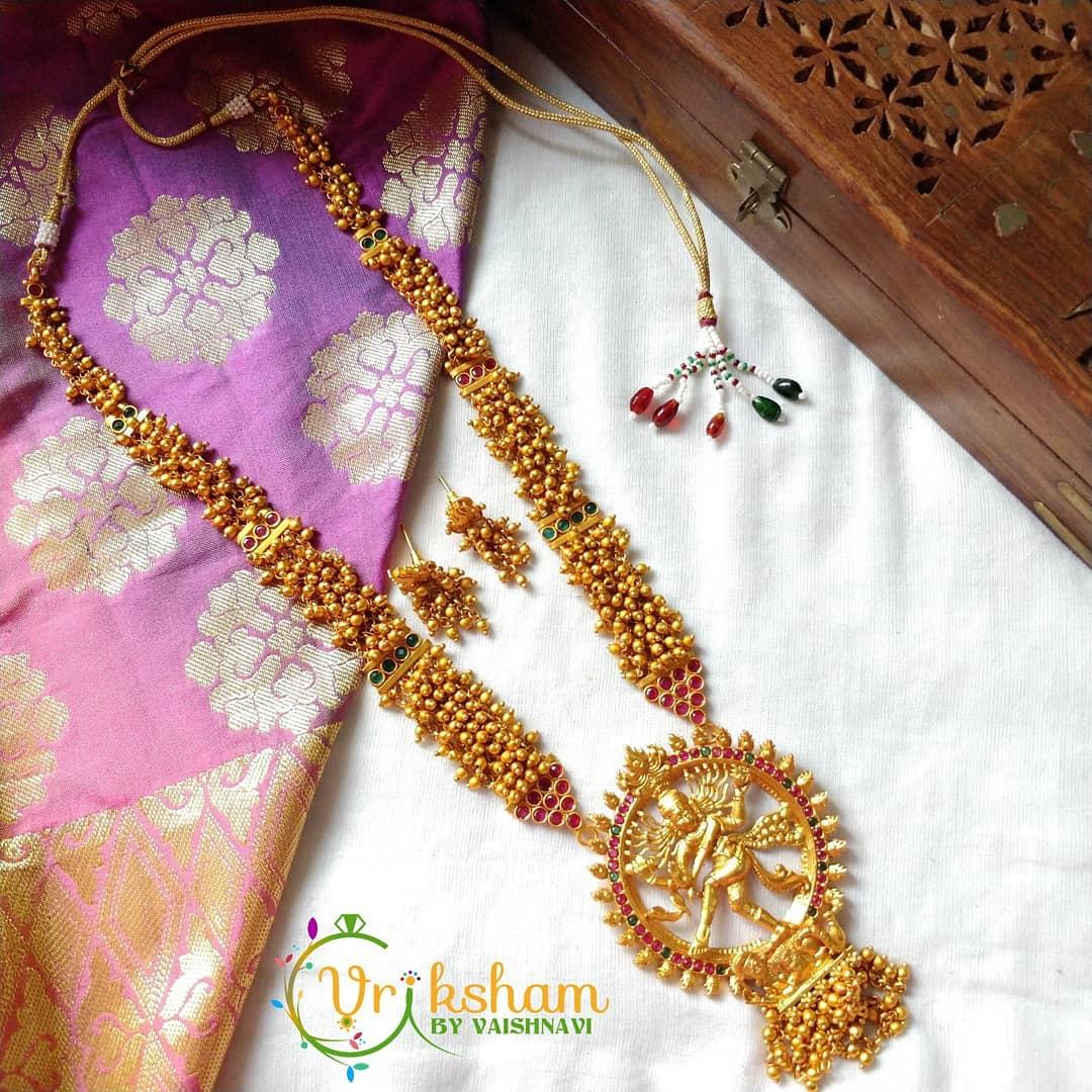 Unique Necklac Set From Vriksham