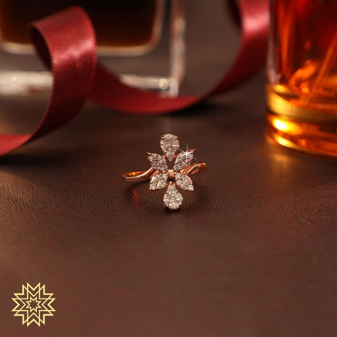 Beautiful Gold Ring From Manubhai Jewels