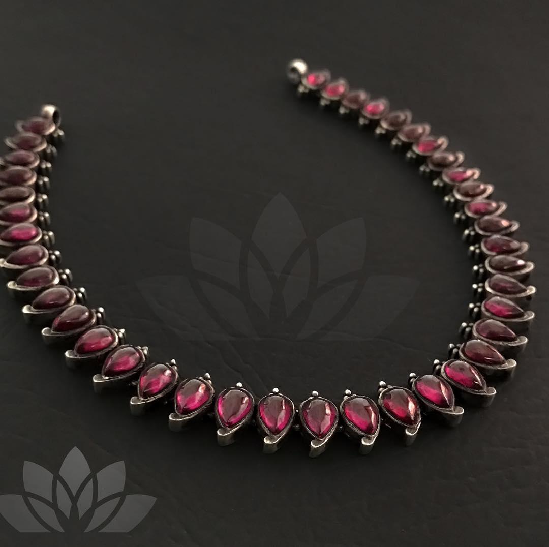 Beautiful Kemp Mango Necklace From Prade Jewels