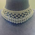 Classy Diamond Necklace From Psatyanarayansons