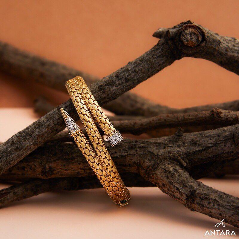 Gold Bracelet From Antara Jewellery