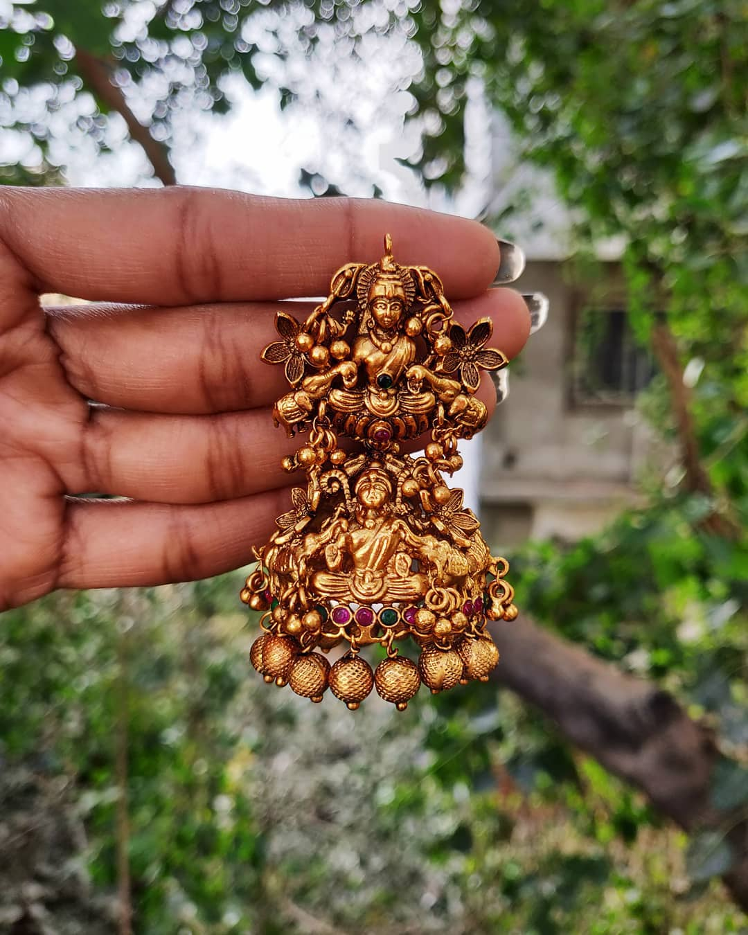 Grand Lakshmi Jhumka From Accessory Villa