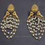 Pearl beaded earrings From Macs Jewellery