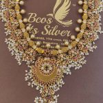 Stunning Gold Plated Silver Necklace From Bcos Its Silver