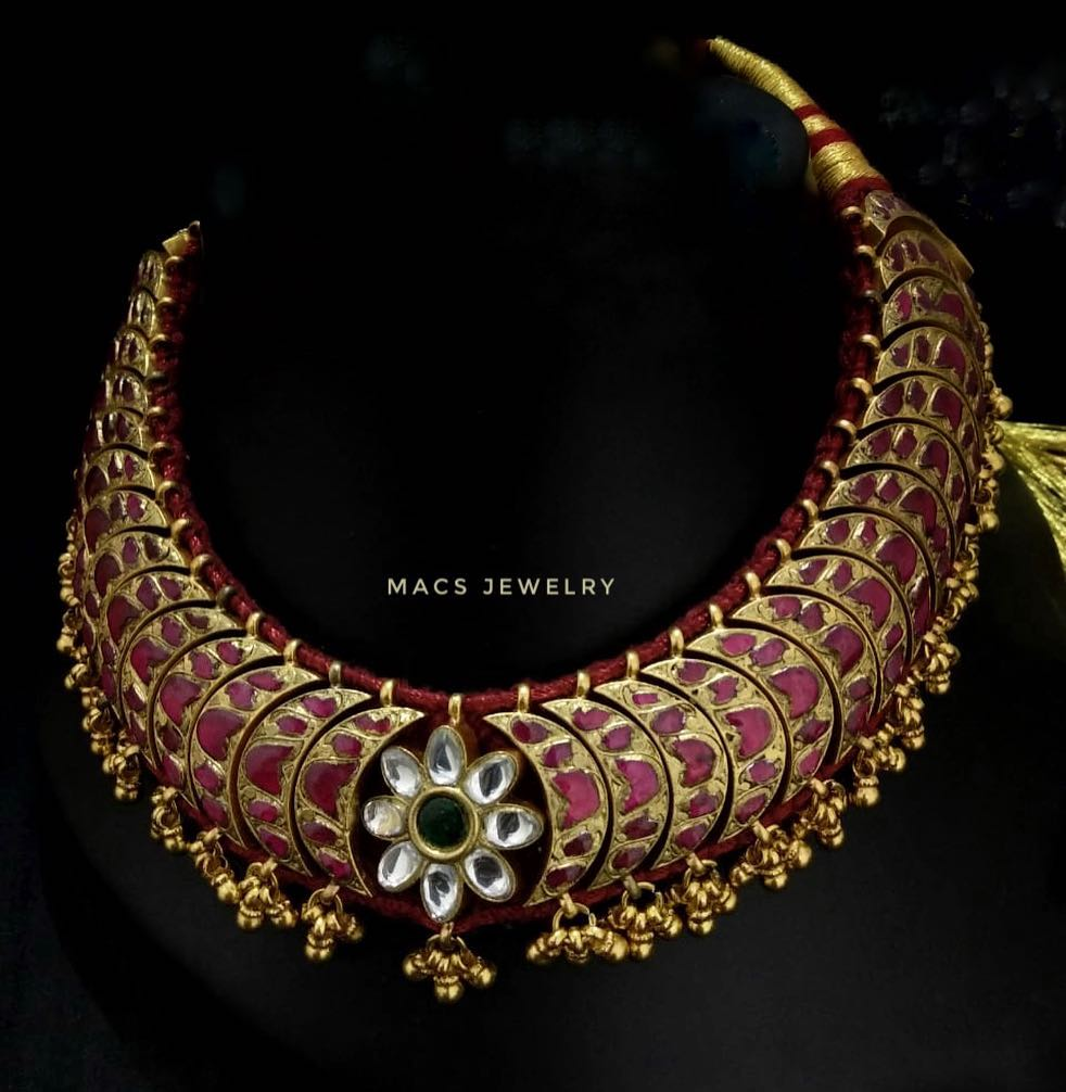 Stunning Kundan choker From Macs Jewellery
