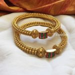 Antique Square Bangles From Emblish Coimbatore