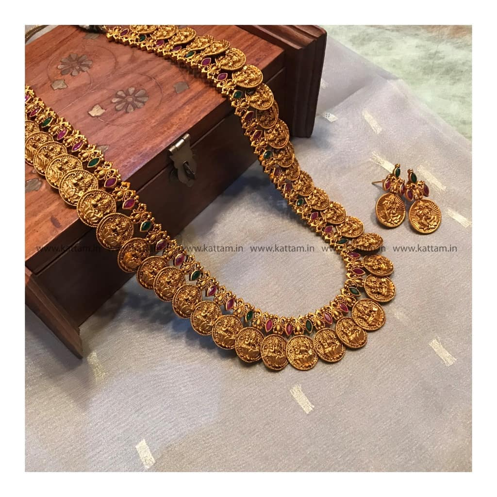 Coin Necklace Set From Kattam