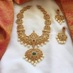 Cut Work Ad Neckpiece From Emblish Coimbatore