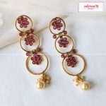 Festive lightweight earrings From Adorna Chennai