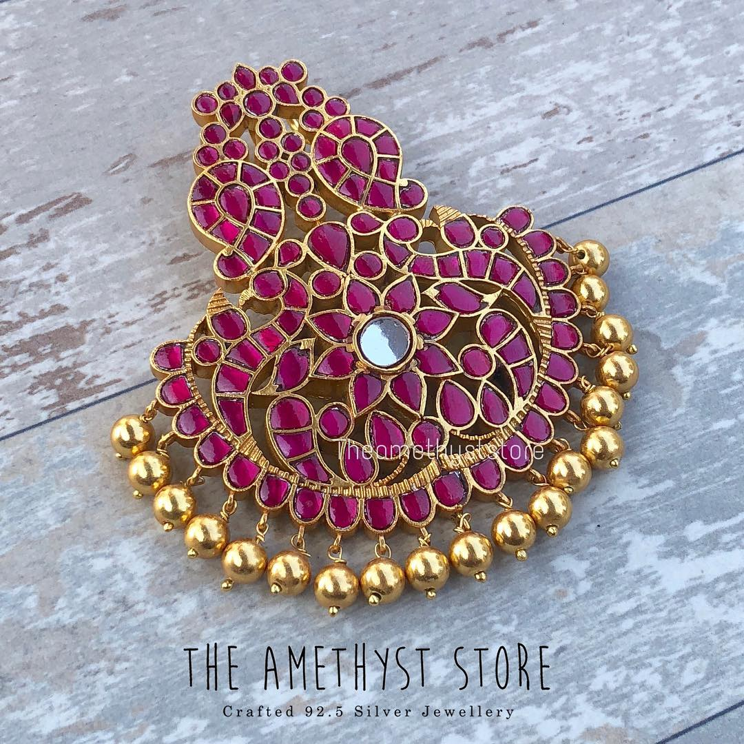Luxury Gold Plated Silver Pendant From The Amethyst Store
