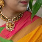 Matte Finish Lakshmi Necklace From Quills And Spills