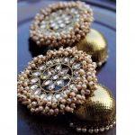 Pearl Cluster Jhumka From Alankaara
