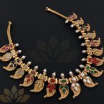 Reversible Multicolour Kemp Choker From Prade Jewels
