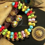 Traditional Thread Work Necklace From Dreamjwell