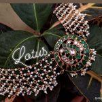 Beautiful Swan Kundan Choker From Lotus Silver Jewellery
