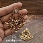 Classic Gold Plated Silver Earring From Nakoda Payals