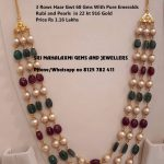 Precious Beads Chains From Sri Mahalakshmi Gems And Jewellery