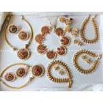 Pretty Necklace Set From Adorna Chennai
