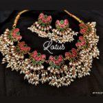 Pretty Pearl Neckalce From Lotus Silver Jewellery