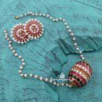 Pretty Silver Necklace From Parampriya