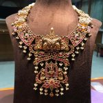 Stunning Gold Nakshi Work From Mangatrai