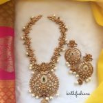 Traditional Matt Necklace Set From Kirthi Fashions
