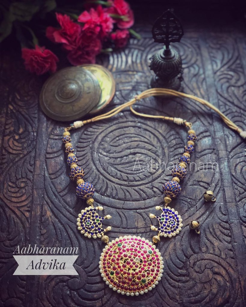 Pretty Necklace From Aabharanam