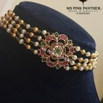 Attractive Silver Choker From Ms Pink Panthers