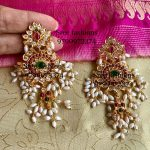 Classic Silver Earring From Sree Exotic Silver Jewelleries