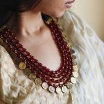 Decorative Beaded Necklace From Thulika