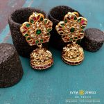 Delightful Gold Jhumka From SVTM