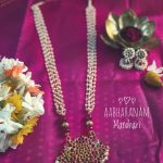 Ethnic Necklace Set From Abharanam