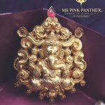 Gold Plated Silver Temple Pendant From Ms Pink Panthers