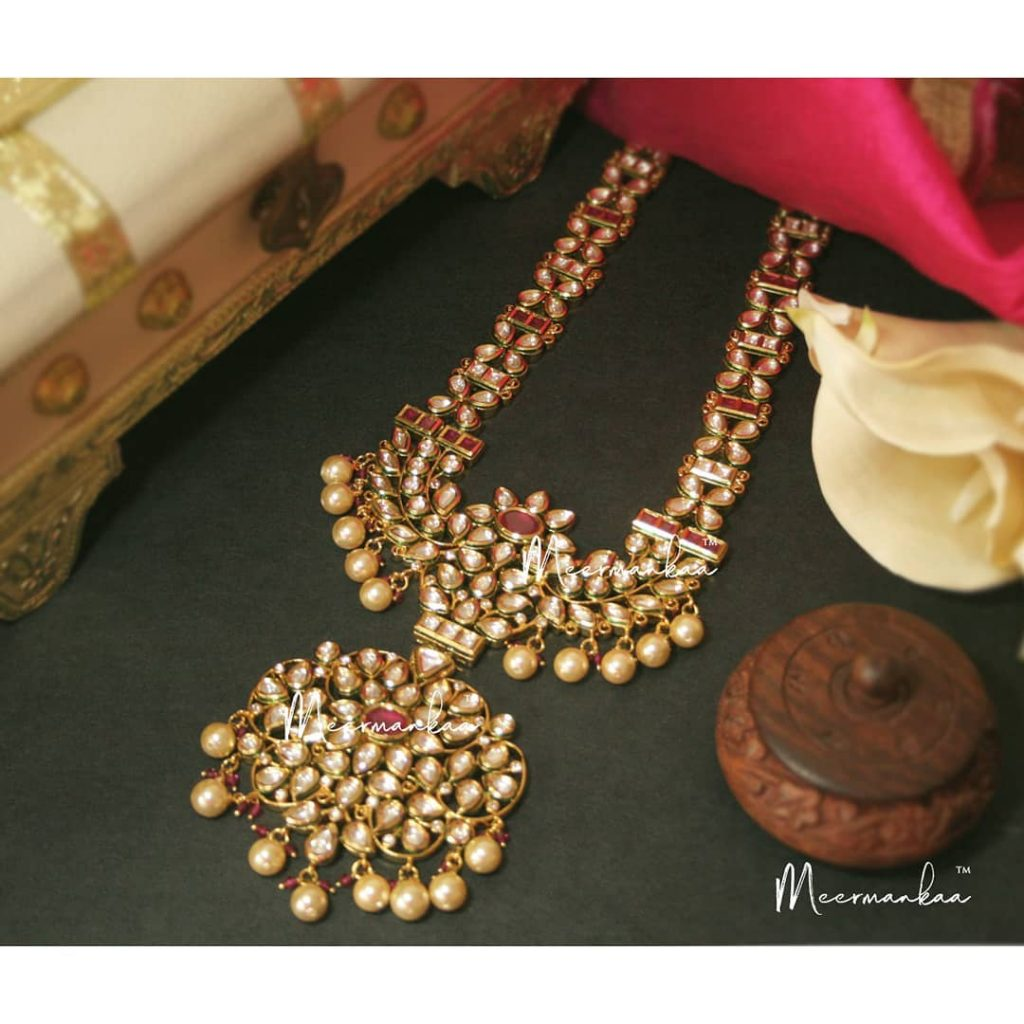 Traditional Long Necklace From Meermankaa