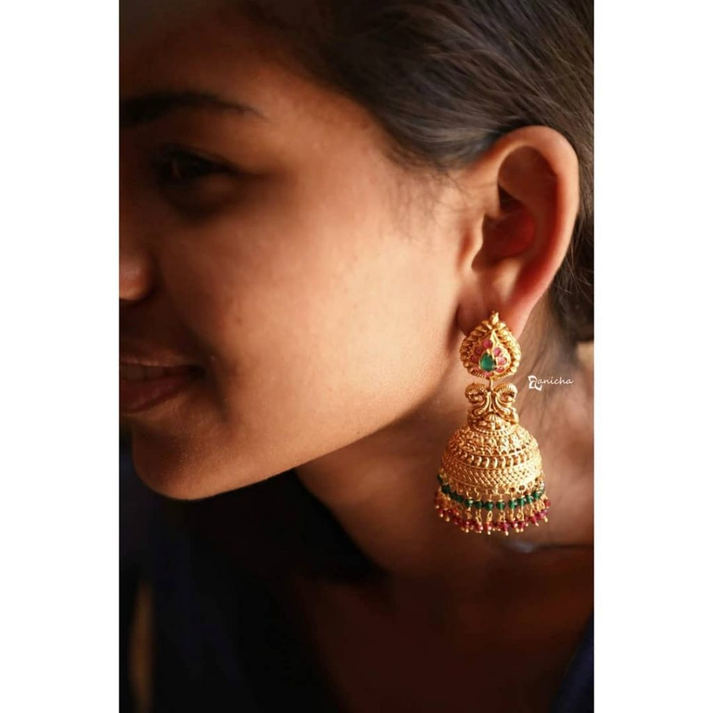 Antique Jhumkas From Anicha