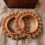 Beautiful Heavy Kada Bangles From Aashriyas Chennai