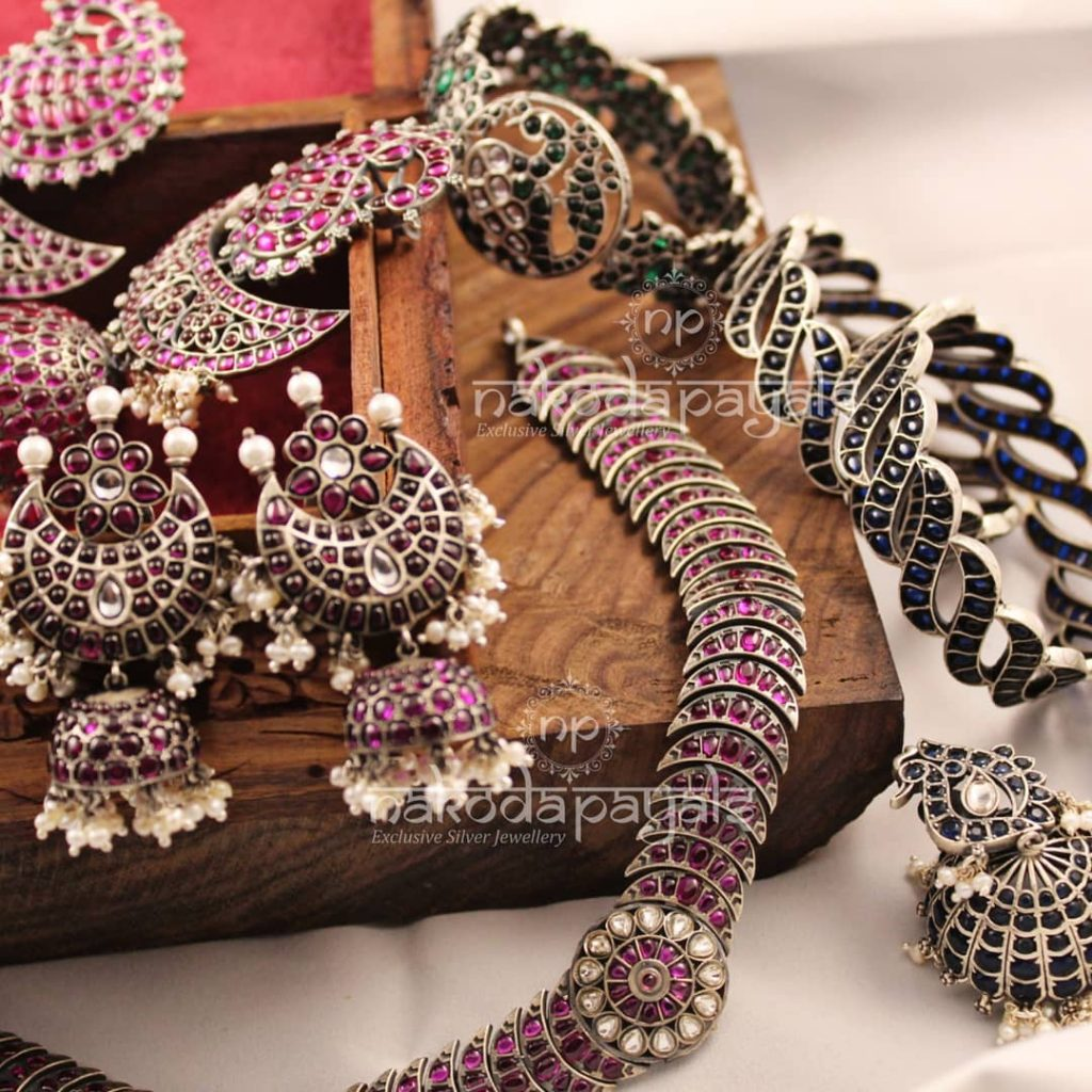 Classic Silver Jewellery Collections From Nakoda Payals
