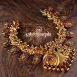 Decorative Silver Necklace From Nakoda Payals