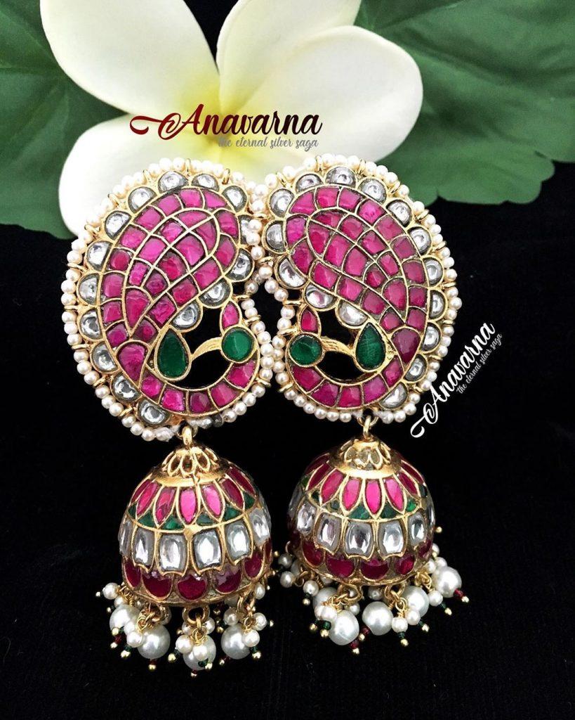 Designer Jhumkas From Bandhan