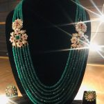 Fashionable Gold Necklace From Aarni By Shravani
